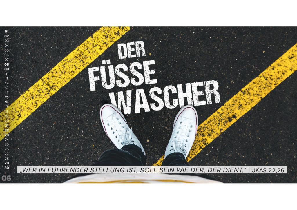Der Füßewascher